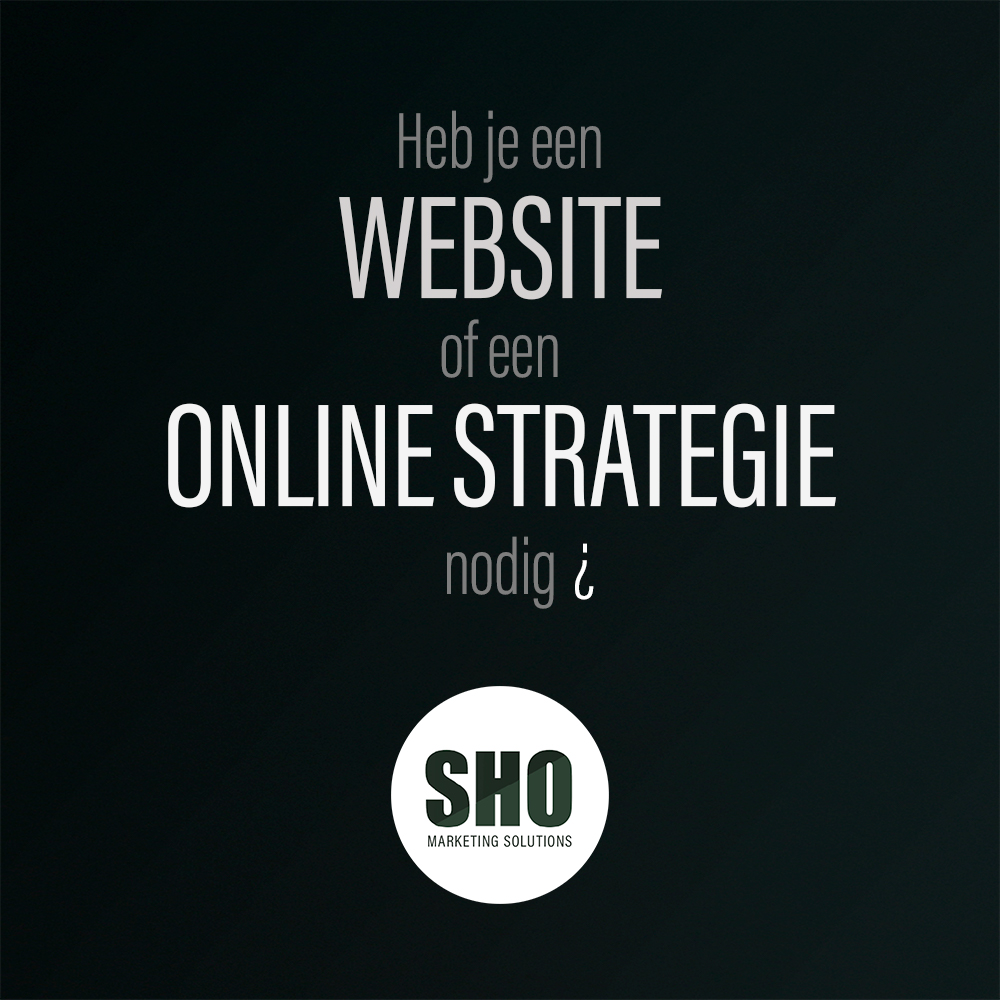 SHO_website vs strategie